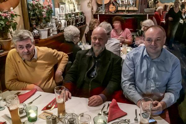 CCB-Mitgliedertreffen, Weltlaterne, Berlin-Schöneberg