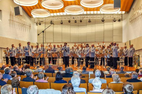 Charity Club Berlin-Benefiz-Sommerkonzert 2016, UdK Berlin, Stabsmusikkorps der Bundeswehr, Obestleutnant Reinhard Kiauka, Soldatenhilfswerk der Bundeswhr e.V.